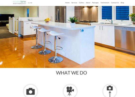 Studiolane Photography website example